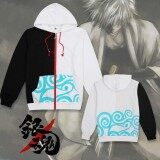 ราคา Anime Gintama Silver Soul Cosplay Hoodies Cotton Hoodie Sweatshirt Jacket Coat Costume Vanlison ใหม่