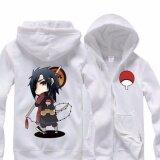 ซื้อ Anime Naruto Sasuke Cosplay Hoodies Jacket Coat Costume Unisex Casual Sweatshirt Collection White Intl Oen