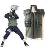 ราคา Anime Naruto Shippuden Hatake Kakashi Ninja Vest Green Cosplay Costume Halloween Costumes Intl เป็นต้นฉบับ
