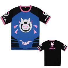 ราคา อะนิเมะ Overwatch Dva คอสเพลย์น่ารักเสื้อยืดเสื้อฝ้ายแบบสบายๆกีฬาท็อปส์สตรีทท็อปส์ ออนไลน์ จีน