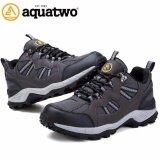 ส่วนลด Aquatwo รองเท้ากีฬาน้ำหนักเบา สำหรับเล่นกีฬาและกิจกรรมกลางแจ้ง ปีนเขา เดินป่า พื้นคุณภาพยึดเกาะดีเยี่ยม รุ่น304 สีเทาดำ Aquatwo