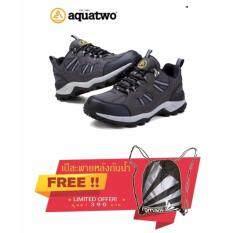 ความคิดเห็น Aquatwo รองเท้าหนังแท้ กันน้ำอย่างดี สำหรับเดินป่า ปีนเขา วิ่งเทรล รุ่น 304 สีเทา แถมฟรี เป้สะพายหลังกันน้ำ มูลค่า 390 บาท