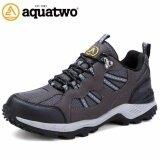 ราคา Aquatwo รองเท้าผู้ชาย รองเท้าเดินป่า รองเท้าวิ่งเทรล รุ่น304 สีเทา Aquatwo ออนไลน์