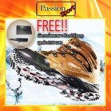 ราคา Aquatwo รุ่น 943 รองเท้าเดินป่า รองเท้าลุยป่า กันน้ำ รองเท้าผู้ชาย สีน้ำตาลอ่อน ฟรี มีดการ์ดพกพา Card Sharp