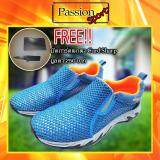 โปรโมชั่น Aquatwo รุ่น 957N สีฟ้า รองเท้าตาข่าย ระบายอากาศดี ระบายเหงื่อที่เท้า ทำให้ไม่มีกลิ่นอับ ใส่เที่ยว ใส่ชิล ใส่ลุยน้ำได้ แห้งเร็ว สีฟ้า ฟรี มีดการ์ดพกพา Card Sharp Aquatwo