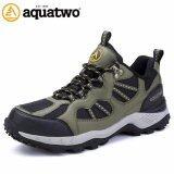 ซื้อ Aquatwo รองเท้าผู้ชาย รองเท้าเดินป่า รองเท้าวิ่งเทรล รุ่น S304 สีเขียว ออนไลน์