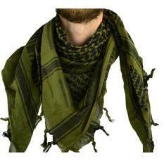 ขาย อาหรับผ้าพันคอทหารคอ Gaiter ยุทธวิธีผ้าพันคอมุสลิมฮิญาบ Windproof ภาษาอาหรับผ้าพันคอทะเลทราย Shemagh อาหรับ Keffiyeh ใหม่