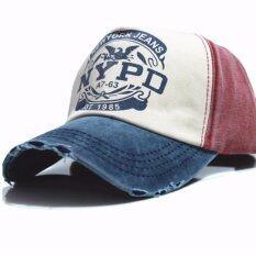 ราคา Areeya Shop หมวก เบสบอล หมวกแก๊ป ปรับขนาดได้ ขาว แดง Baseball Cap6 Twotone ใหม่ล่าสุด