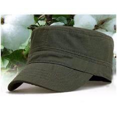 ซื้อ Areeya Shop หมวก หมวกแฟชั่น หมวกทรงทหาร Army Minimal Style Cap10 Olive Areeya Shop ออนไลน์