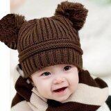 ซื้อ Areeya Shop หมวกเด็ก หมวกไหมพรม Babyhats P44 Bearbrown ใหม่