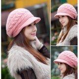 ราคา Areeya Shop หมวกไหมพรมถัก สีชมพู Beanieunisex P106A Pink เป็นต้นฉบับ