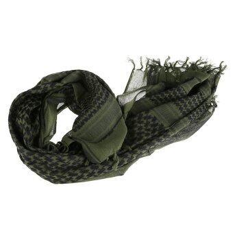 Army Military Tactical Arab Shemagh Keffiyeh Shawl Scarves Wrap Army Green - intl