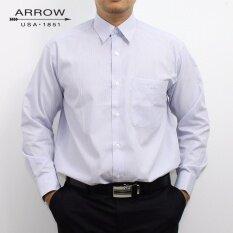 ขาย Arrow เสื้อเชิ้ตแขนยาว สีน้ำเงิน Blue Ay341Bu ออนไลน์ ใน กรุงเทพมหานคร