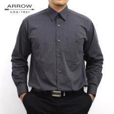 ราคา Arrow เสื้อเชิ้ตแขนยาว สีเทา Grey Ai33Wgy ใหม่ล่าสุด