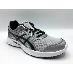 ราคา Asics Men รองเท้าผ้าใบ ผู้ชาย รุ่น Gel Excite 5 T7F3N9390 Silver Black Carbon ราคาถูกที่สุด