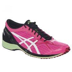 ราคา Asics Men Running Shoes รองเท้าวิ่งผู้ชาย Asics Tarther Kainos 3 Hot Pink White Men ใน สมุทรปราการ