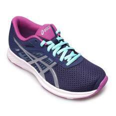 ขาย Asics Women รองเท้าผ้าใบ ผู้หญิง รุ่น Fuzor T6H9N4993 Indigo Blue Silver Orchid ออนไลน์