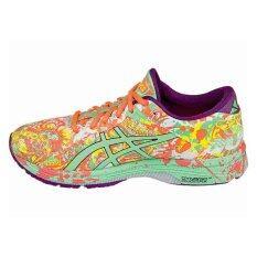 Asics Women Running Shoes รองเท้าวิ่งผู้หญิง Gel-Noosa Tri 11-Flash Coral/spring Bud/sun.