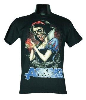 เสื้อวง ASKING ALEXANDRIA เสื้อยืดวงดนตรีร็อค เสื้อร็อคAA1538 ส่งจากไทย