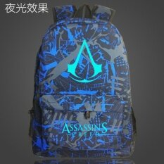 ราคา กระเป๋านักเรียนกระเป๋าสะพายเกาหลีชายและหญิงนักเรียนมัธยม Assassin S Creed ดอกไม้ดอกไม้ ฮ่องกง