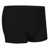 ราคา Astar Men Casual Underpants Solid Short Boxers Underwear Black ใหม่ ถูก
