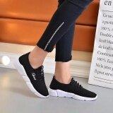 ขาย Astrid รองเท้า รองเท้าผ้าใบแฟชั่น รองเท้าผ้าใบผู้หญิงสีดำ รุ่น A014 Black ออนไลน์