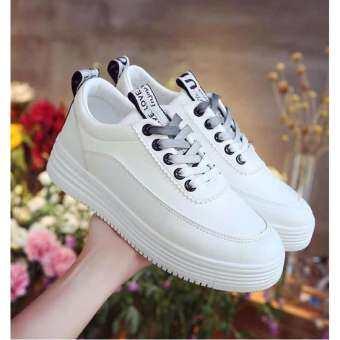 ASTRID รองเท้าผ้าใบผู้หญิง รองเท้าแฟชั่นสไตล์เกาหลีN0.A027