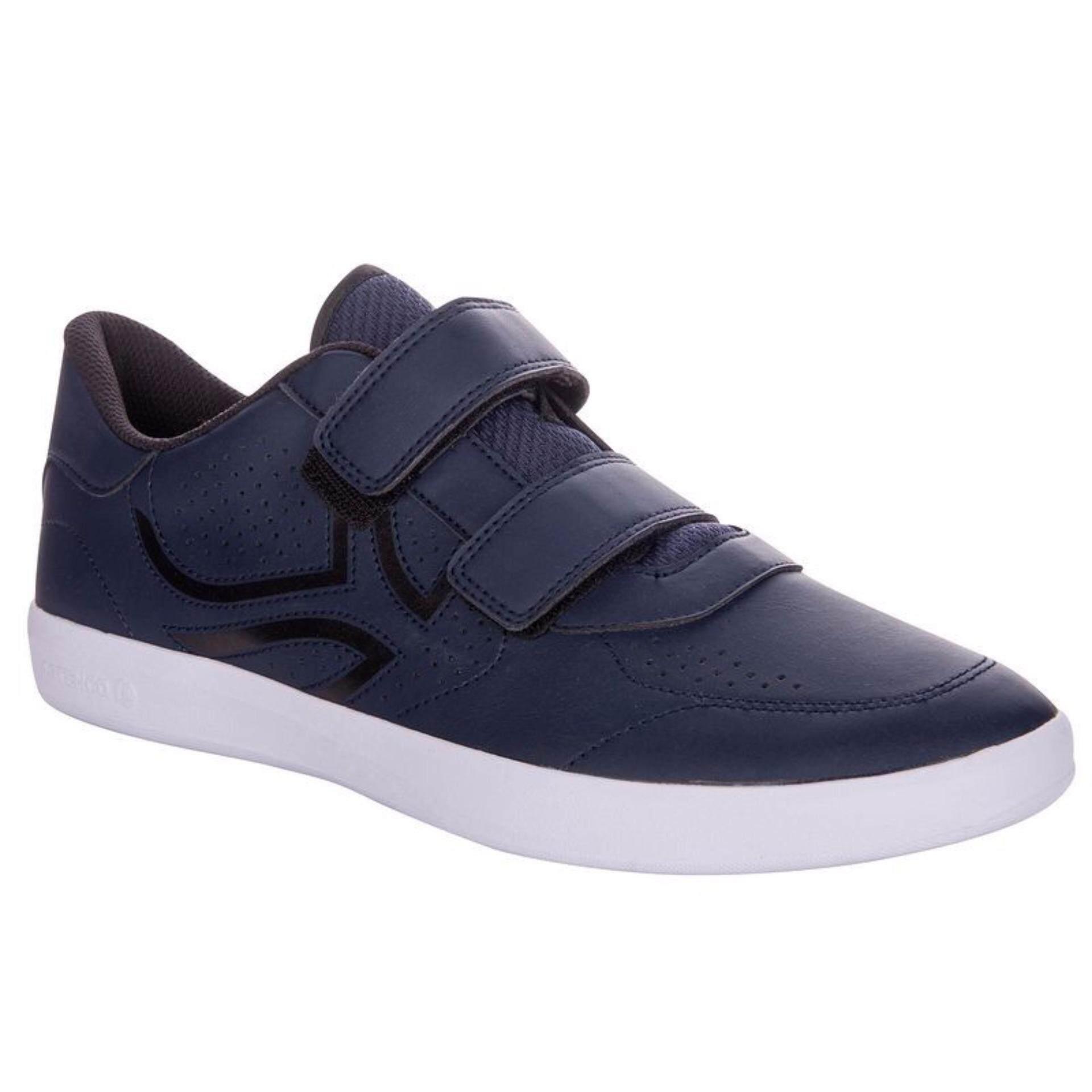 Audreyรองเท้าเทนนิสแบบแถบรัดts700 (สีน้ำเงิน).