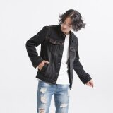 ซื้อ Autumn Genuine Loose Jacket Jacket Tide Male Retro Old Cowboy Clothing Couple Jacket B Intl ใหม่ล่าสุด