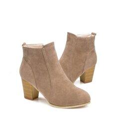 ราคา ฤดูใบไม้ร่วงฤดูหนาวรองเท้ารองเท้าส้นสูงรองเท้าบูทนกนางแอ่นรองเท้าผู้หญิงข้อเท้า Kh 35 นานาชาติ Unbranded Generic เป็นต้นฉบับ