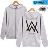 ซื้อ Autumn Winter New Hip Hop Streetwear Alan Walker Dj Hoodies High Quality Hooded Sweatshirt Men Zipper Hoodie Casual Loose Sweatshirt Intl ออนไลน์