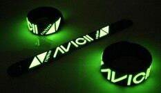 Avicii ริสแบนด์เรืองแสง อาวีชี่ Wristband สายรัดข้อมือ กำไล วงร็อค พังค์ อีโม เดธเมทัล ป๊อป เกาหลี Avi232ga By Rockwristband.