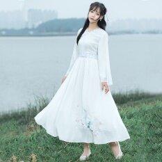 ความคิดเห็น Aw หญิงเสื้อผ้าจีน Elemen ดอกไม้ที่ดีขึ้น Crane ฤดูร้อน นานาชาติ