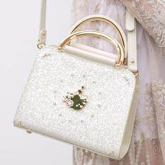 ราคา Axixi กระเป๋าแฟชั่นผู้หญิง รุ่น Princess Diamond สีขาว ถูก