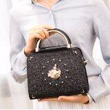 ราคา Axixi กระเป๋าแฟชั่นผู้หญิง รุ่น Princess Jasper สีดำ ที่สุด