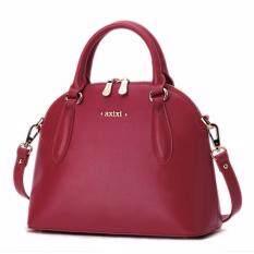 โปรโมชั่น Axixi กระเป๋าแฟชั่นสตรี รุ่น Red Curve สีแดง