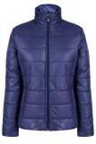 ซื้อ Azone Women Casual Long Sleeve Warm Down Jacket Navy Blue Intl Unbranded Generic
