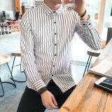 ราคา เกาหลีรุ่นชายลายเสื้อ B15 สีขาว ใหม่ ถูก