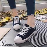 ขาย รองเท้าผ้าใบผู้หญิง รุ่น B666 มี 2 สีให้เลือก Leemo ใน กรุงเทพมหานคร