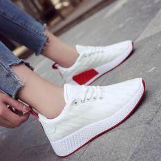 ซื้อ รองเท้าแฟชั่นทรงสปอร์ตสไตล์เกาหลี B789 สีขาว ออนไลน์ ถูก