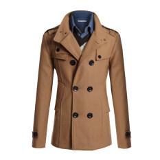 บางคนเป็นสไตล์เกาหลีเสื้อแจ็กเก็ตขนสัตว์ตัวยาวทรงหนาวทนกว่าเสื้อแบบอูฐ ถูก