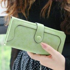 ขาย Ladybeibeiกระเป๋าสตางค์หญิงใบยาว กระดุมแป๊ก สไตล์ญี่ปุ่นเกาหลี ผลไม้สีเขียว ผลไม้สีเขียว Unbranded Generic ผู้ค้าส่ง