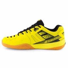Babolat รองเท้าแบดมินตัน SHADOW CLUB UNISEX -17(สีเหลือง/สีดำ)