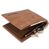 ราคา Baborry Mens Short Soft Leather Wallet High Quality Men S Genuine Leather Bifold Wallet(Coffee) Intl ใหม่ ถูก