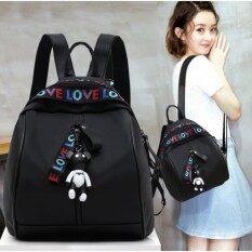 ความคิดเห็น ดาวพร้อมกระเป๋าสะพาย กระเป๋า กระเป๋าเป้ กระเป๋าสะพายหลัง Backpack No B01 Black