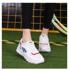 ราคา Baduoha รองเท้าผ้าใบแฟชั่นเกาหลี Size 40 สีขาวน้ำเงิน ใหม่ ถูก