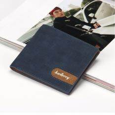ขาย Baellerry กระเป๋าสตางค์ ผู้ชาย กระเป๋าเงิน กระเป๋าตัง บาง ทรงสั้น Wallet Mens Luxury Leather Credit Id Card Holder Baellerry Billfold Coin Purse Blue กรุงเทพมหานคร ถูก