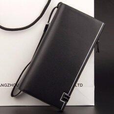 ขาย Baellerry กระเป๋าสตางค์ ผู้ชาย กระเป๋าเงิน กระเป๋าตัง บาง ทรงยาว Men Wallet Business Style Long Pattern Pu Leather Wallet For Men Black Baellerry ผู้ค้าส่ง