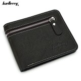 ราคา Baellerry Open Zipper Letter Embellishment Men Short Wallet ใหม่