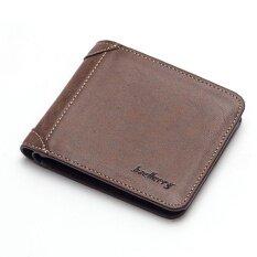 โปรโมชั่น Baellerry Wallet Male Short Section Men S Small Wallet Youth Retro Mini Wallet Coffee Intl ใน จีน